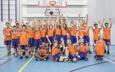 BZ´72 in de nieuwe basketbaltenues