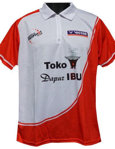 Badmintonshirt-BC-Drop-Shot-Akaza-sport