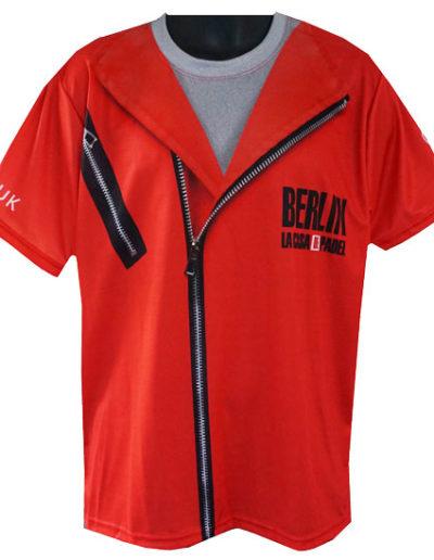 Tennisshirt-La-Casa-De-Padel-Akaza-sport