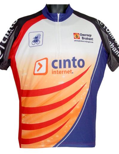 Wielershirt Cinto-omroep-brabant - Akaza sport
